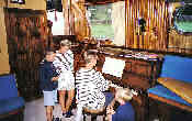 hotel barge cruise on the canal du Midi with piano onboard